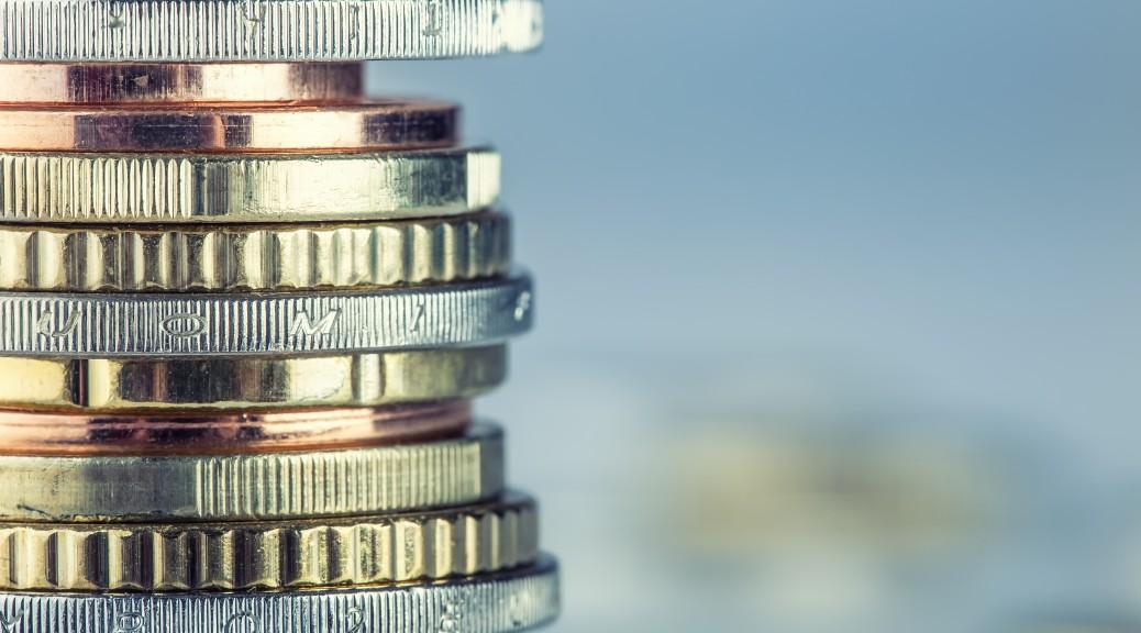 Euro coins. Euro money. Euro currency.