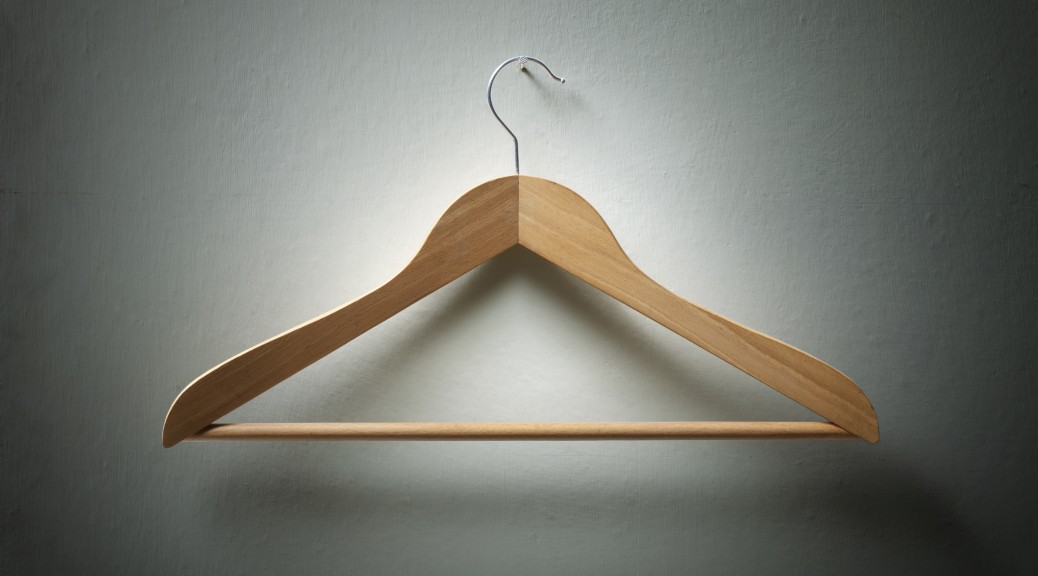 Wooden coat hanger on the wall.Similar photographs from my portfolio: